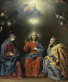 300px-Carlo_Dolci_-_The_Holy_Family_with_God_the_Father_and_the_Holy_Spirit_-_WGA06376